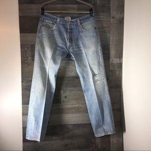 Levi's men's 501 jeans 36x30